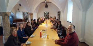 Alman dili öğrencileri Innsbruck Üniversitesi'nde