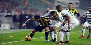Bursa'da ilk yarı gol yok
