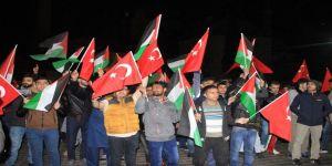 Ayasofya Meydanı'nda İsrail protestosu