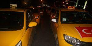 Taksicilerden boykot kararı