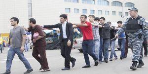 Moskova'da kaçak çalışan 40 bin kişi sınırdışı edildi