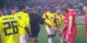 Kolombiyalı futbolcuya ırkçılık cezası