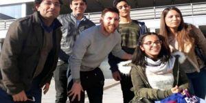 Suriyeli sığınmacıya Messi'den sürpriz