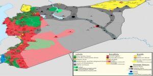 İşte Suriye'nin yeni haritası!