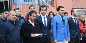 Osmaneli'de öğretmenlere artan saldırılara tepki