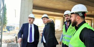 Başkan Baran, projeleri yerinde inceledi