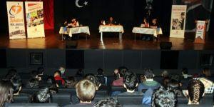Sabuncuoğlu Tekden Lisesi öğrencilerinin sorularını cevapladı