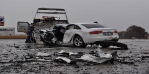Eskişehir'de trafik kazası: 2 ölü 2 yaralı