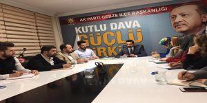 AK Parti Gebze Gençlik Kolları ilk toplantısını gerçekleştirdi