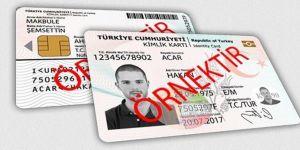 Yeni kimlik kartlarıyla ilgili açıklama