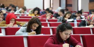 Üniversite adaylarına YKS tatbikatı