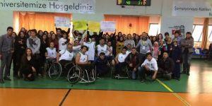 Doğanşehir Tekerlekli Sandalye Basketbol Takımı sahasında yenildi