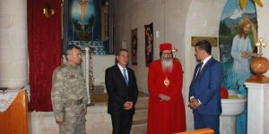 Adıyaman protokolü Süryanilerin Noeli'ni kutladı