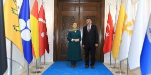 Çalık'tan Başkan Gürkan'a övgü