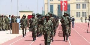 Somali'de TGK Komutanlığında 1. dönem piyade bölüğü eğitimi tamamlandı
