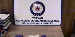 Bitlis'teki uyuşturucu operasyonunda 3 kişi yakalandı