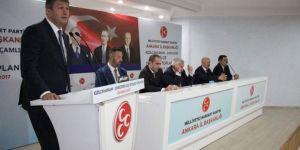 İki ilçe teşkilatı ortak istişare toplantısı düzenledi