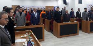 Siirt'te 'Masa başı tatbikatı' gerçekleştirildi