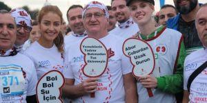 Vodafone 39'uncu İstanbul Maratonu'nda bağış topladı