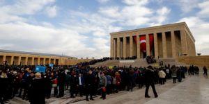 Atatürk'ün Ankara'ya gelişinin 98. yıl dönümü kutlandı