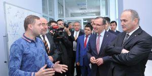Kütükcü, Bakan Özlü'den Konya'ya model fabrika istedi