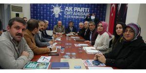 Başkan Gümrükçüoğlu AK Parti Ortahisar İlçe Teşkilatı ile buluştu