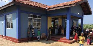 Sri Lanka'da Türk köyünde anaokulu, sağlık ocağı ve çocuk oyun alanı hizmete açıldı