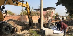 Saruhanlı ve Akhisar'da altyapı yatırımları hız kazandı