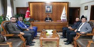 Türk Eğitim Sen'den Vali Aktaş'a ziyaret