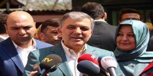 Abdullah Gül'den eleştirilere yanıt