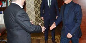Başkan Baran'a teşekkür ziyareti