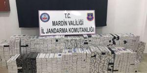 8 bin 790 paket kaçak sigara ele geçirildi