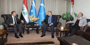 Bağdat Büyükelçisi'nden Irak Türkmen Cephesi'ne taziye ziyareti