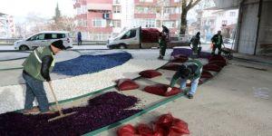 Köprülü kavşaklara Büyükşehir'den estetik dokunuş