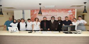 Başkan, Kocaeli Devlet Hastanesi Ek Binası'nı inceledi