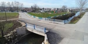 Başiskele'de köprü genişletildi