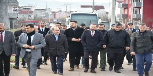Başkan Doğan, Alikahya Mahallesi'ni ziyaret etti