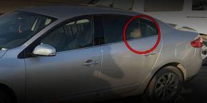 Aracında donarak öldü!