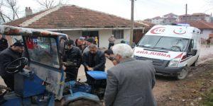 Yığılca'da pat pat kazası 4 yaralı