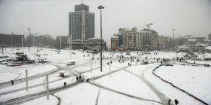 Tam 1 yıl önce İstanbul bembeyazdı
