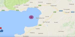 Edremit Körfezi 3.5 şiddetinde sallandı