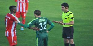 Sert maçta Bursaspor farka koştu