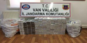 Van'da 3 bin 620 paket kaçak sigara ele geçirildi