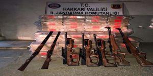 66 bin 250 adet av tüfeği fişeği ele geçirildi