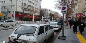 Niğde'nin en aktif caddesinde araç parkı yasakladı