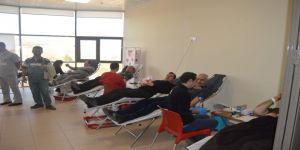 Kan ve kök hücre bağışı standı kuruldu