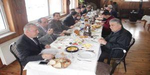 Kaymakam Eskioğlu, gazeteciler ile bir araya geldi