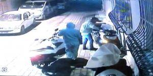 20 bin liralık motosikleti dakikalar içinde çaldılar