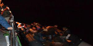 Kuşadası Körfezi'nde 36 kaçak göçmen yakalandı