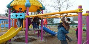 Özel öğrenciler için engelsiz park